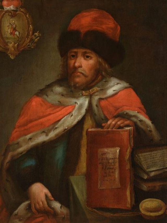 Князь Василий Голицын (прижизненный портрет неизвестного автора)
