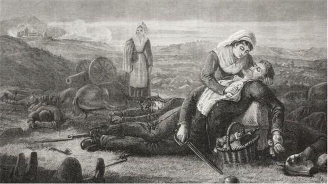 প্রিন্সেস লুইজের আঁকা একটি ছবি