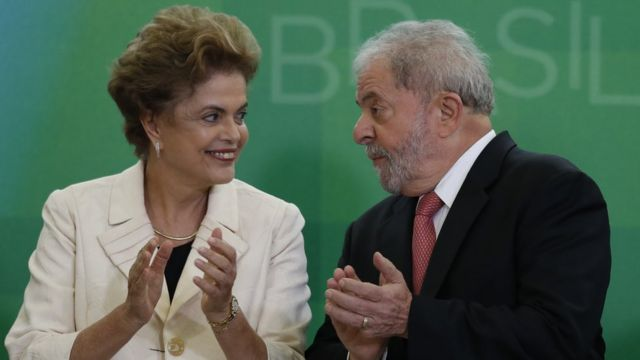 Dilma Rousseff y Luiz Inácio Lula da Silva