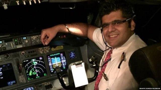 lion air, pilot, Bhavya Suneja