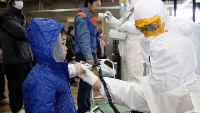 Медосмотр, Фукусима, 2011 год