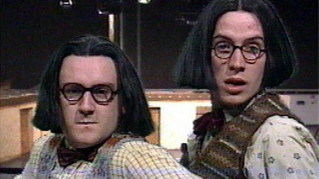 Meirion Davies a Rhys Ifans