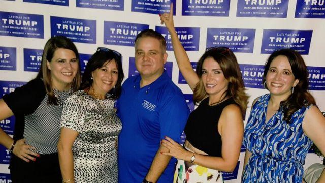 Evento de Latinas for Trump
