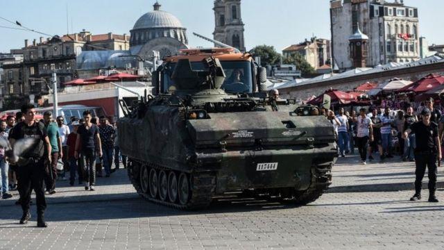 مدرعة للجيش التركي