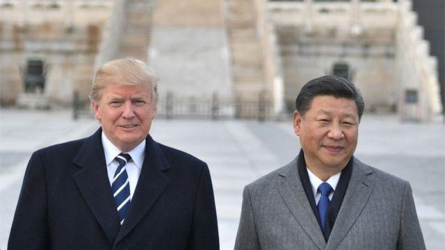 رهبران چین و آمریکا بر سر تعرفههای وارداتی مجادله دارند.