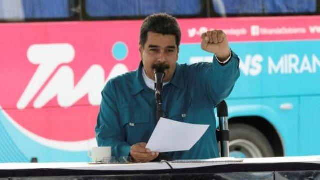 President Nicolas Maduro say na Africa actually win di world cup