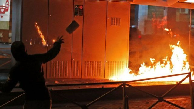 clashes in israel