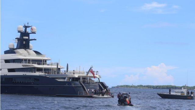 Penyitaan kapal bernama Equanimity dengan panjang 100 meter tersebut dilakukan polri bekerja sama dengan dinas investigasi federal AS, FBI, didampingi tim dari Pengadilan Negeri Denpasar.