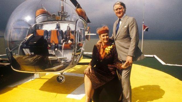 Roy e Joan Bates se declararam príncipe e princesa do Principado de Sealand