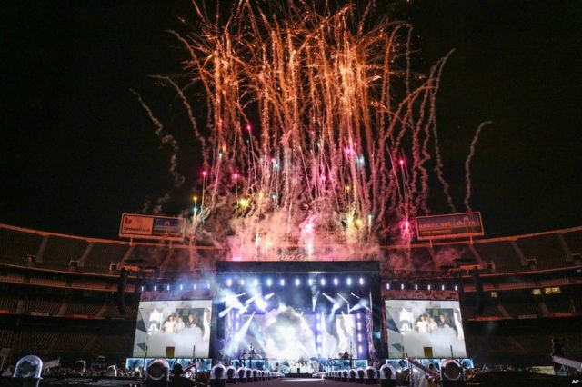 One Direction gig in San Diego