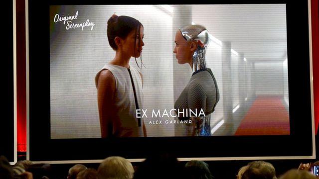 """人工智能的能力——在電影《機械姬》(Ex Machina)中可見一斑——對""""靈性行為""""的現代定義至關重要 (Credit: Alamy)"""