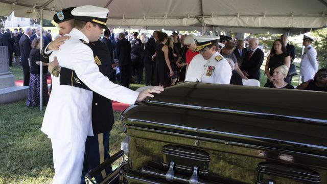 John Mccain burial