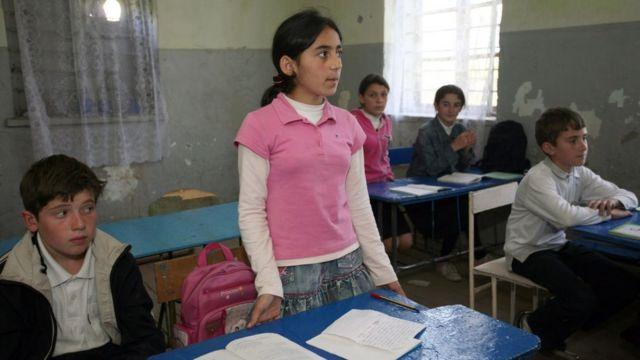 Школа в Гали