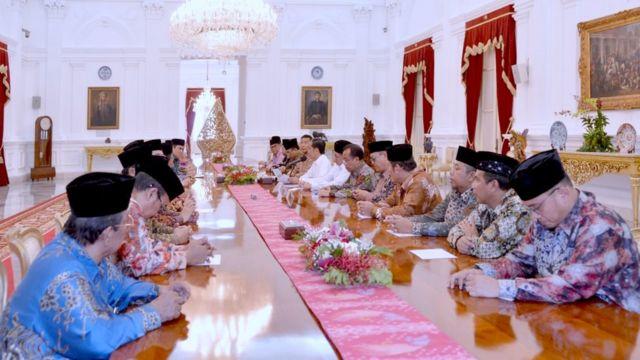 Pertemuan di Istana