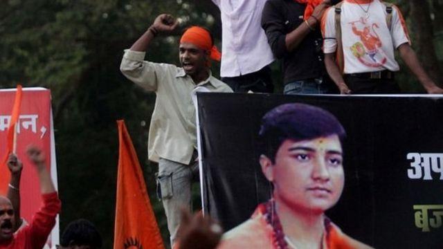 प्रज्ञा सिंह, भाजप, हिंदुत्ववादी राजकारण