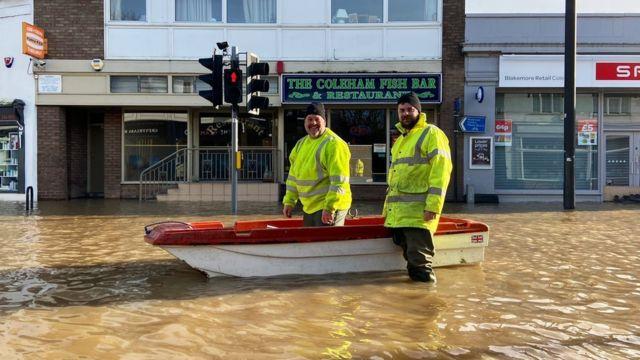 Boat in Coleham