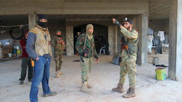 المعارضة المسلحة في حلب