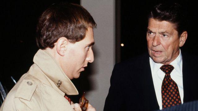 Roger Stone e Ronald Reagan