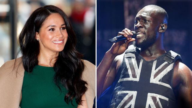 Meghan Markle and Stormzy