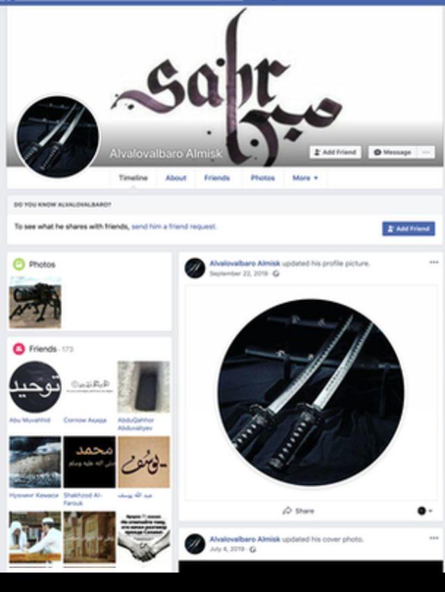 Мубаширнинг Facebookдаги иккинчи профили