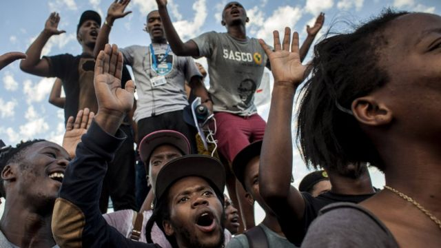 Why South Africa's born-free generation is not happy