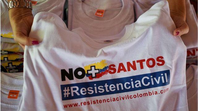 Propaganda contra Santos.