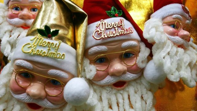Brinquedos de Papai Noel