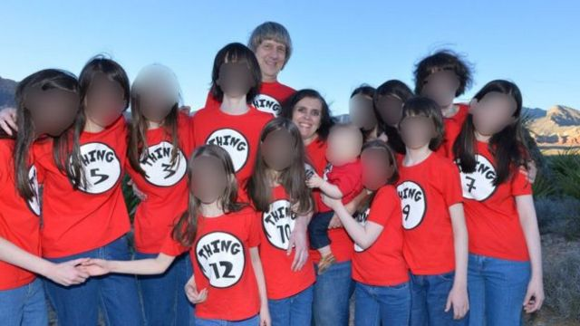 Photo of the Turpin family