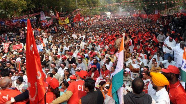ভারতের জনসংখ্যার একটা বড় অংশ বরাবর বামপন্থী রাজনীতিকে সমর্থন করে এসেছেন