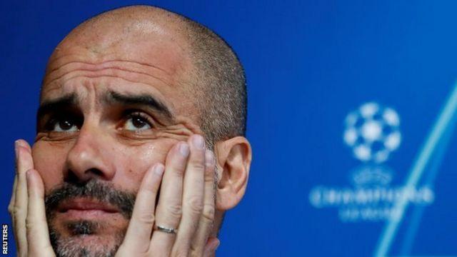 Pep Guardiola, manager de Manchester City