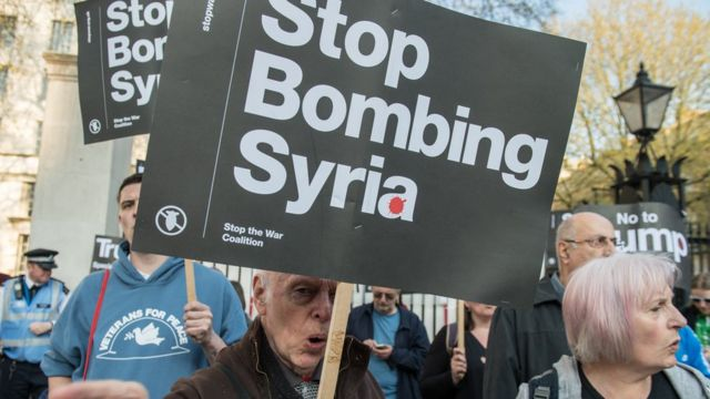 Syrian refugee 'felt oppressed' by Stop the War protest
