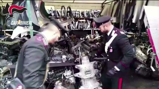 Italian police break up Fiat 500 car-share theft gang