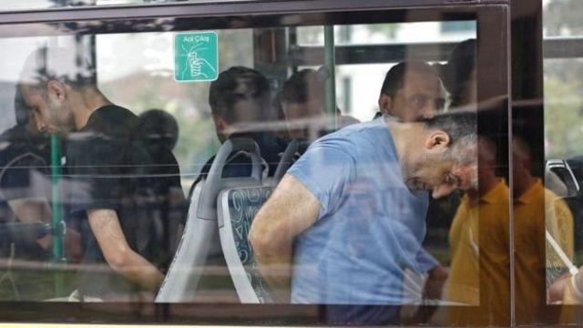 معتقلون في تركيا