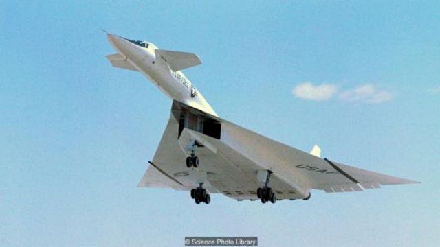 XB-70 bomber
