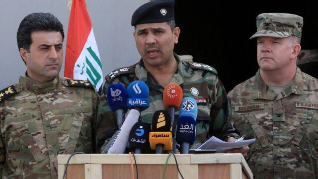 المتحدث باسم الداخلية العراقية سعد معن