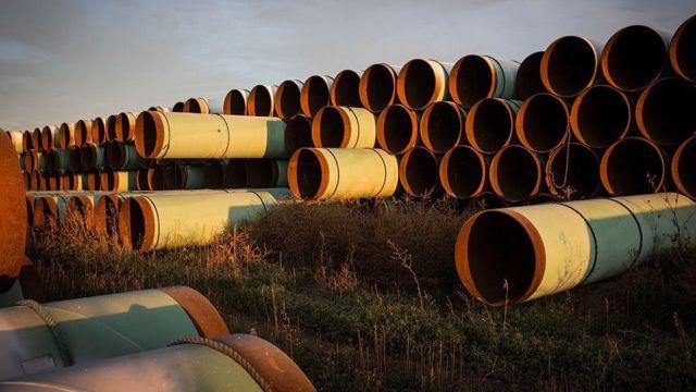 Ruhsatı iptal edilen boru hattı inşaatı alanındaki malzeme ve donanımın çekilmesine başlanacak