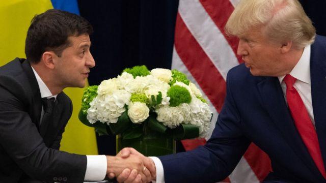 Трамп и Зеленский