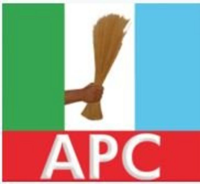 Nigeria APC logo different from di Sierra Leone party.