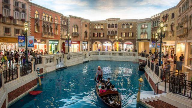 Hotel y casino Venetian.