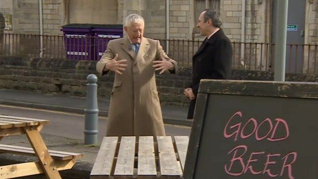 Nick Hewer and Will Glennon