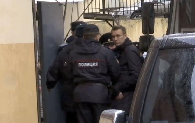 Олексій Навальний у Тверському суді Москви