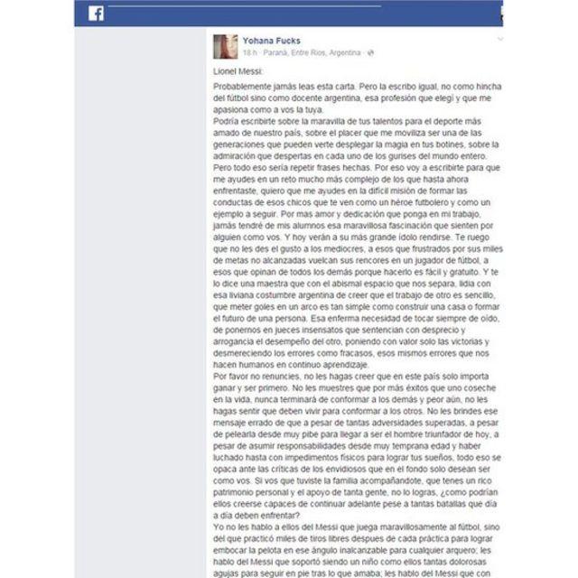 Facebook de Yohana Fucks