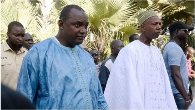 Prezida Adama Barrow aratahuka muri Gambia