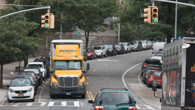 Дорога в Нью-Йорке