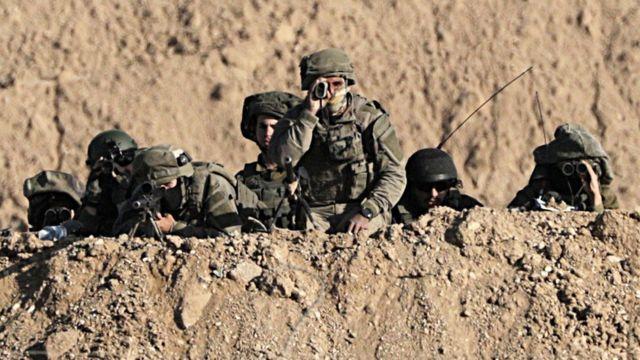 قوات إسرائيلية