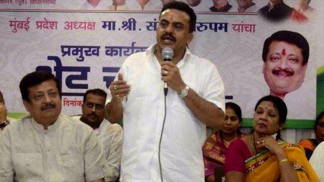 संजय निरुपम, कांग्रेस नेता