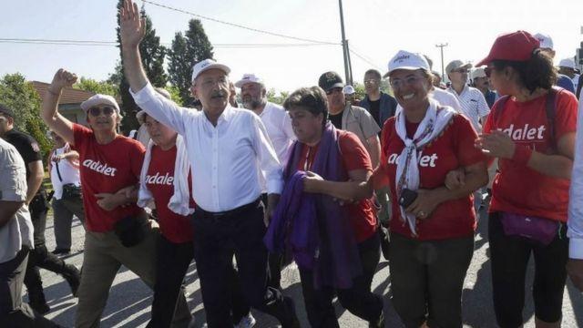 کمال قلیچ داراوغلو، رهبر حزب جمهوریخواه خلق ترکیه