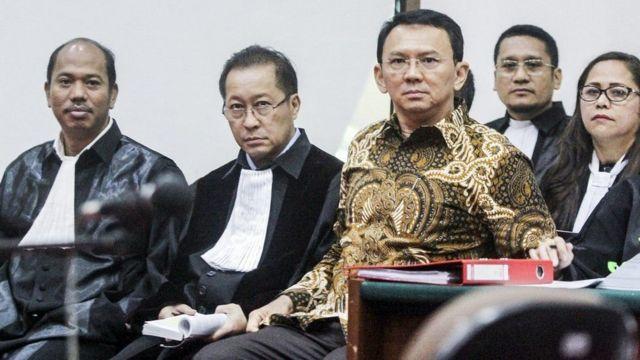 Gubernur DKI Jakarta, Basuki Tjahaya Purnama, penodaan agama