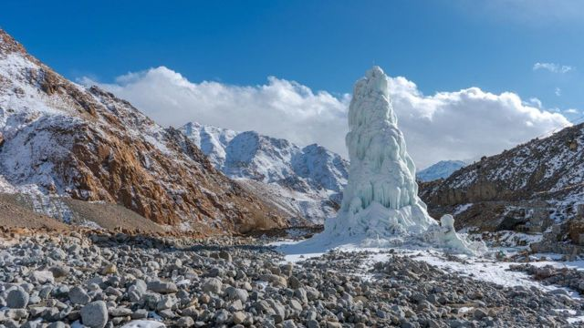 الأبراج الجليدية في لاداخ