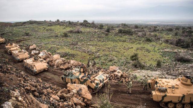 Zeytin Dalı Harekatı'ndaki TSK birlikleri
